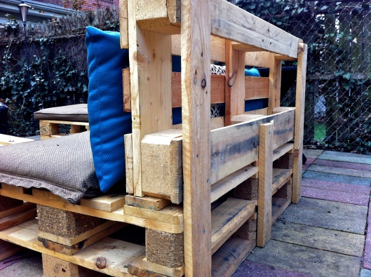 Pallet Chair Rear