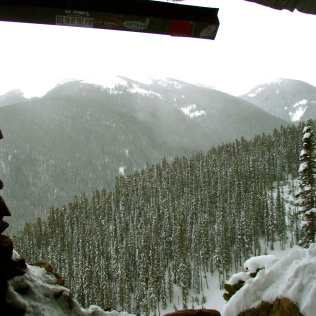 Hut Overlooking Corona Way