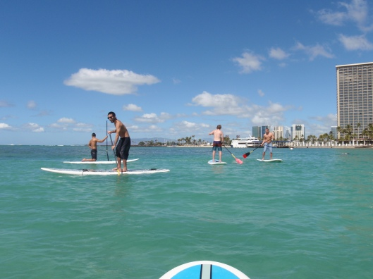 Team Paddleboard