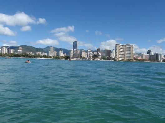 Waikiki from the Break