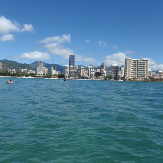 Waikiki from the Break
