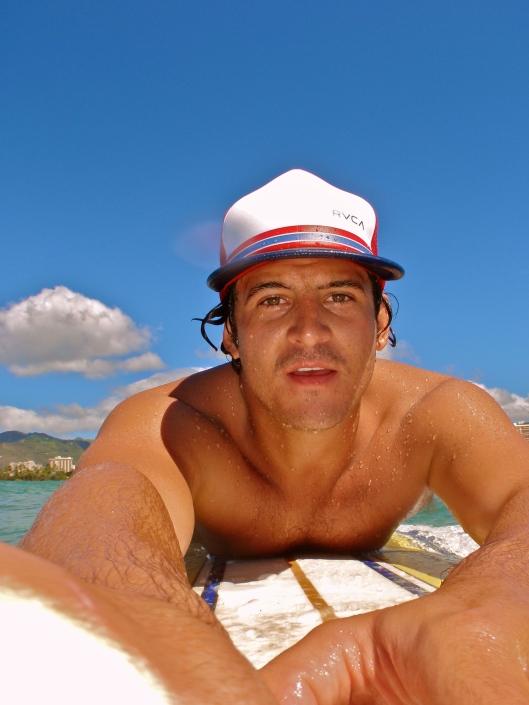 Waikiki Self-Portrait
