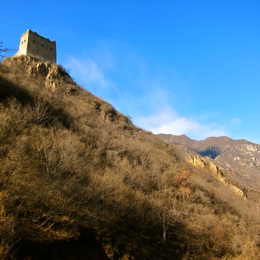 The Only Rectangular Turret on the Great Wall