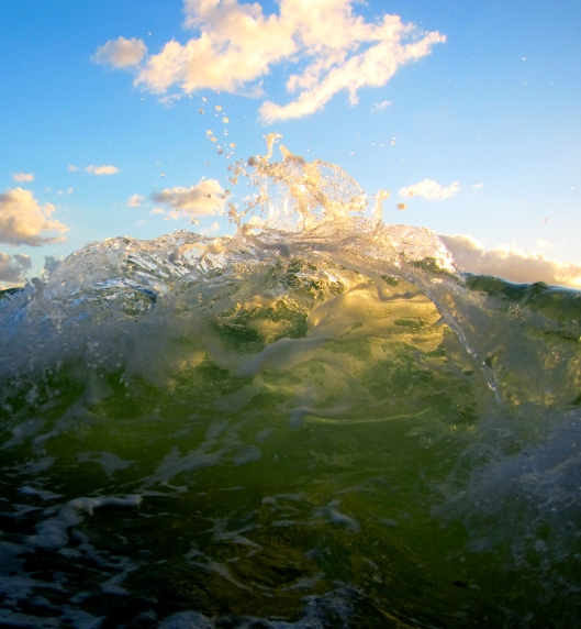 Sunset Backwash