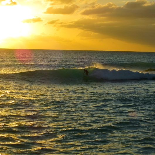 Sunset Shred, Cupecoy