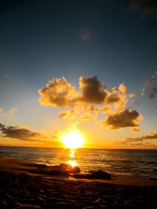 Sunset, Baie aux Prunes, St Martin