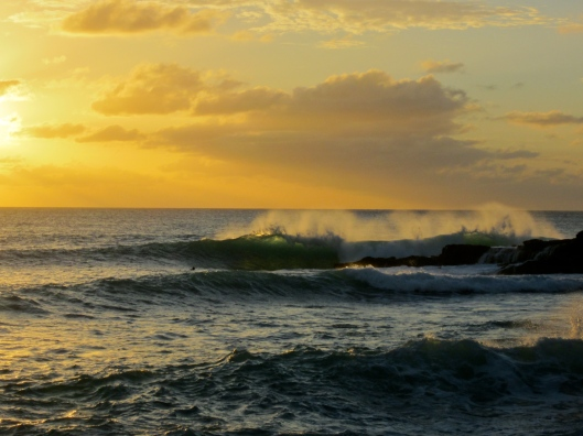 Sunset Wave, Cupecoy, St Martin