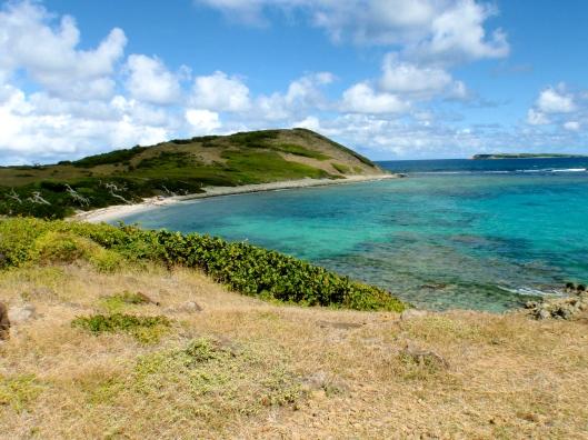 Backside of Pinel Island
