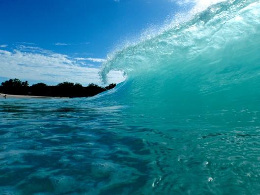 Breaking Wave, Mullet Bay, St Maarten