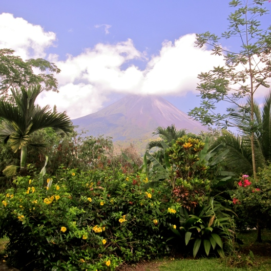 Vulcan Arenal from Our Hotel Paradise Mountain