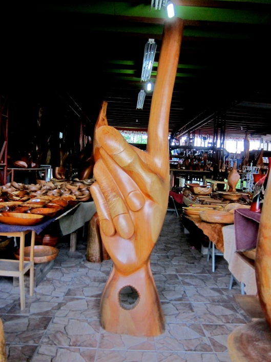 Number 1 in Mango Wood Shapes. Check these out in La Fortuna