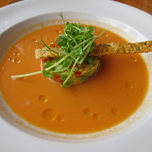 Fresh take on Gazpacho