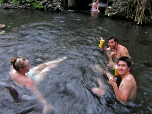 BYOB Hot Springs. Just Across from Tabacon