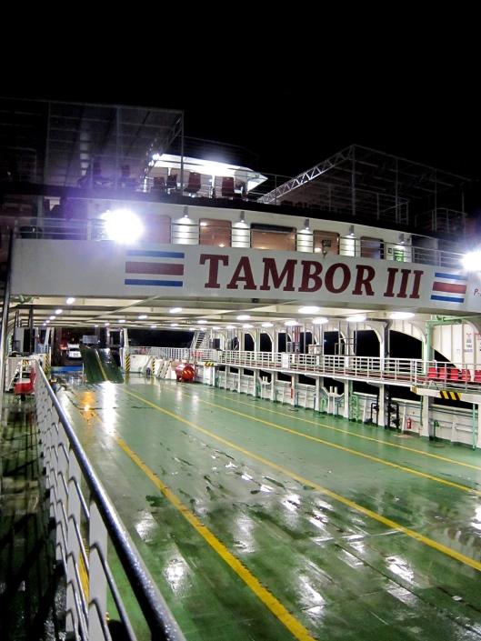 Tambor III, Paquera