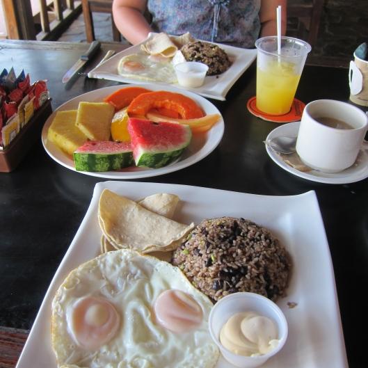 Typical Breakfast de Los Ticos