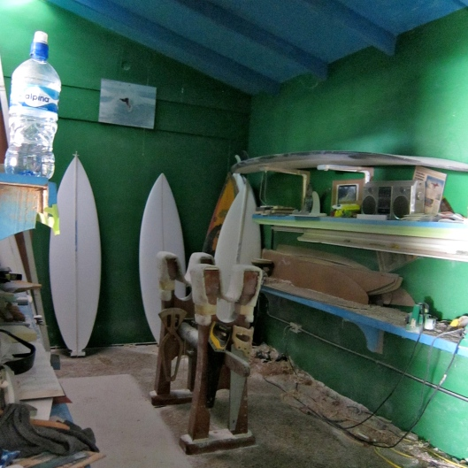 Shaping Room, Carton Surfboards