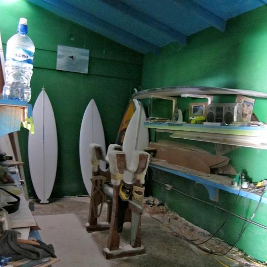 Shaping Room, Carton Surfboards