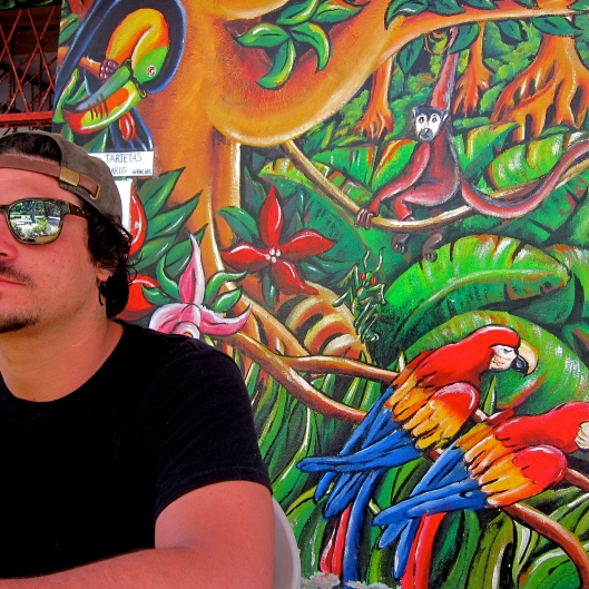Sunburn and Paintings, Jungle Cafe