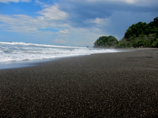 Empty Beach, Playa Hermosa, Puntarenas