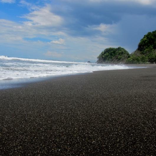 Empty Beach, Playa Hermosa, Puntarenas