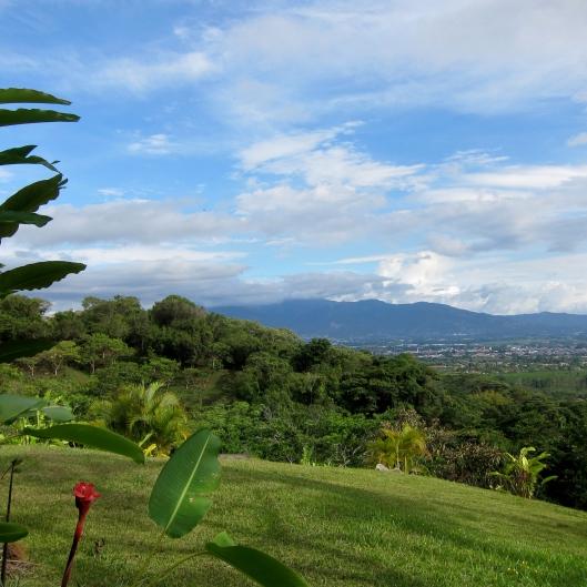 San Jose from our room. Xandari Resort, Alajuela