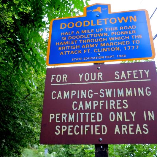 Doodletown Entrance