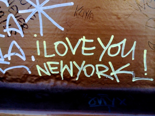 i LOVE YOU NEW YORK - Anonymous