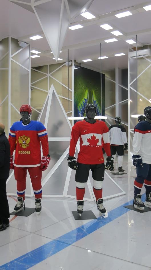 Nike Olympic Hockey Uniforms