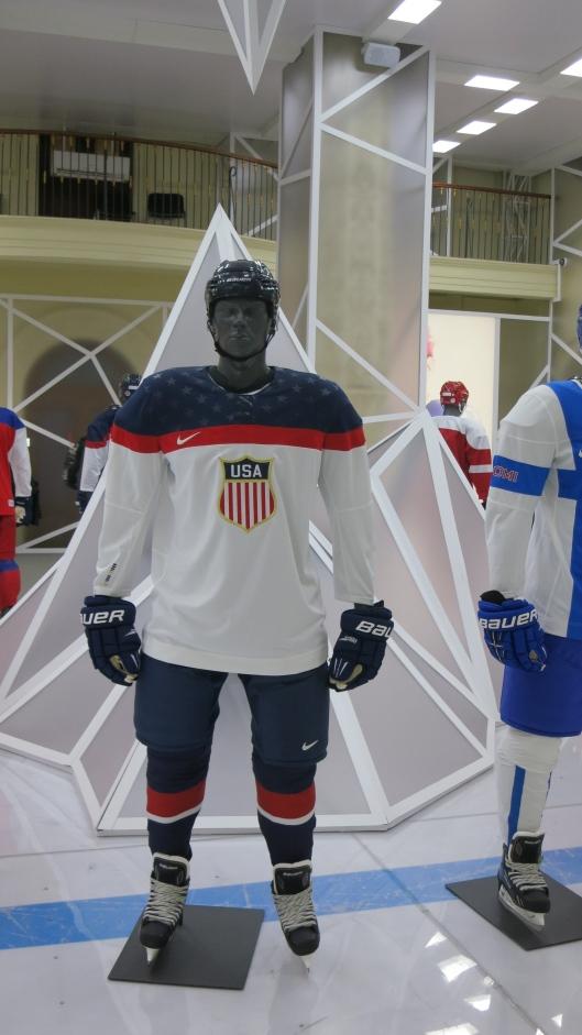 Team USA Hockey Uniform