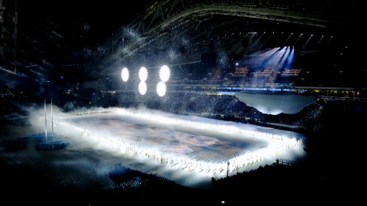 Opening of the Olympic Rings