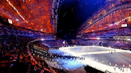 Inside of Fischt Stadium