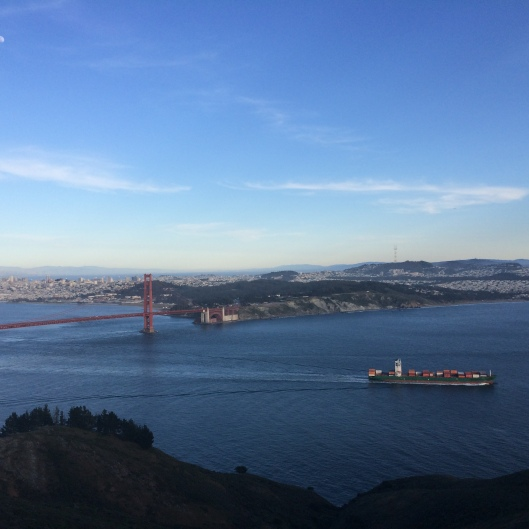 Golden Gate from Hawk Hill